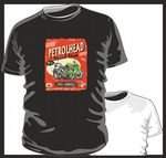KOOLART PETROLHEAD SPEED SHOP Design For Kawasaki ZX-7R Super Bike mens or ladyfit t-shirt
